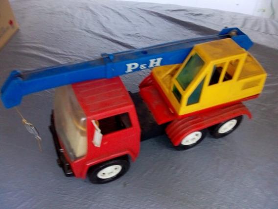 Caminhão Guincho Plastilindo Anos 70 Aproveite*