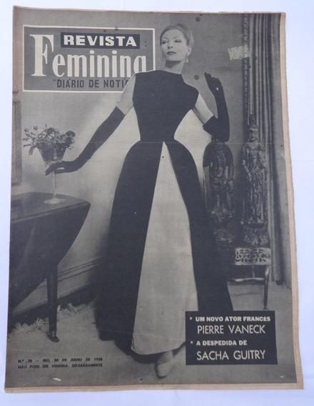 Revista Feminina Nº 28: Nora Ney - Iára Lex - Olenewa - 1958