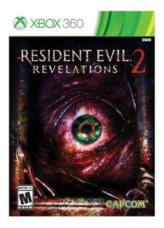 Resident Evil Revelations 2 Fisico Nuevo Xbox 360 Dakmor