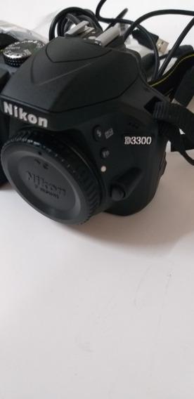 Câmera Nikon D3300 Usada
