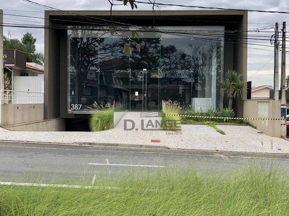 Salão Para Alugar, 950 M² Por R$ 40.000/mês - Nova Campinas - Campinas/sp - Sl0468
