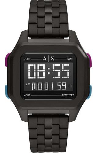 Relógio Armani Exchange Ax2952/1pn Digital Preto Masculino