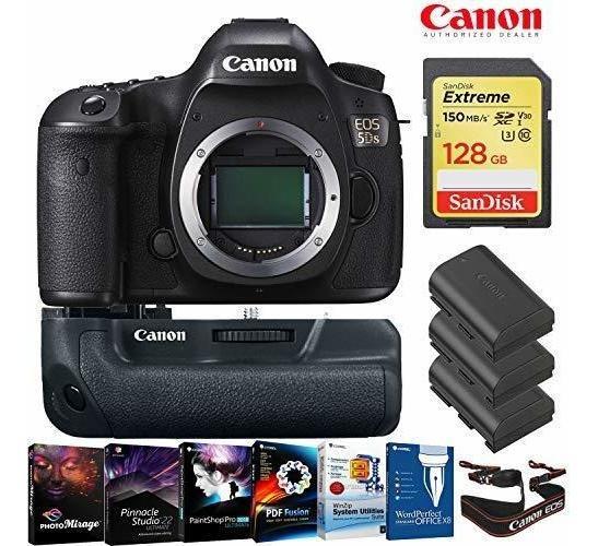 Camara Eos 5ds Dslr Body Only 128gb Memory Card Bateria Gr ®