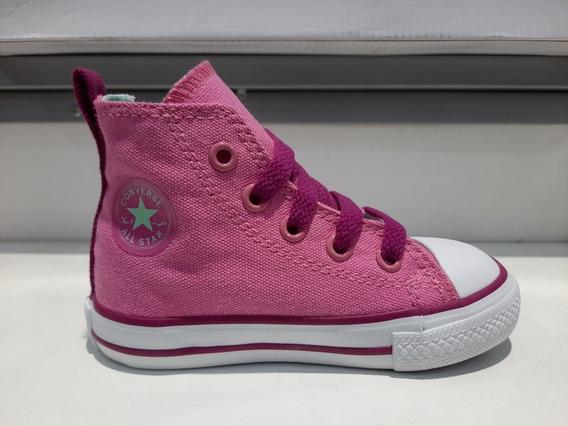 Zapatilla Converse All Star Side Zip Rosa Niñas Envio Gratis