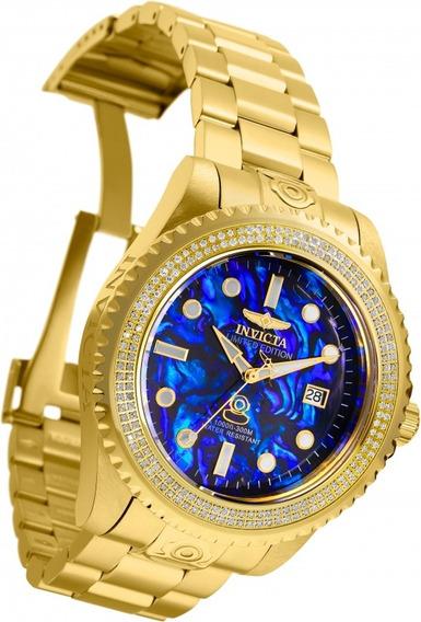 Relogio Invicta Seiko Diver Automatico Suiço Rolex Diamantes