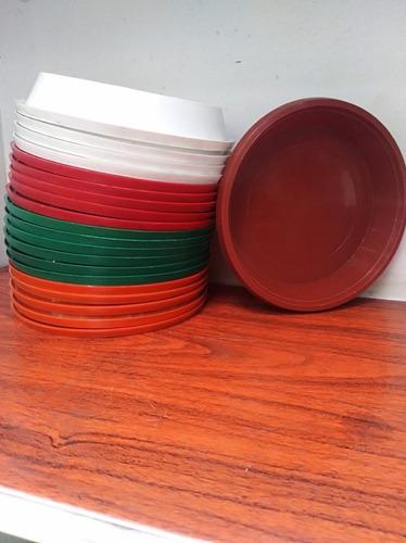Platos Para Matera De Colores #18