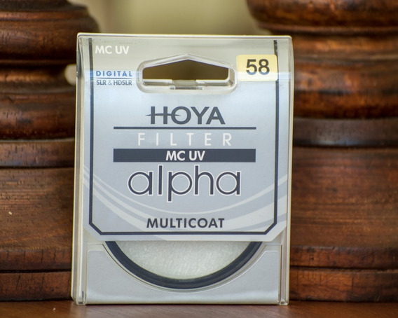 Filtro Hoya 58mm Mc Uv Alpha Multicoat Digital Hdslr Top
