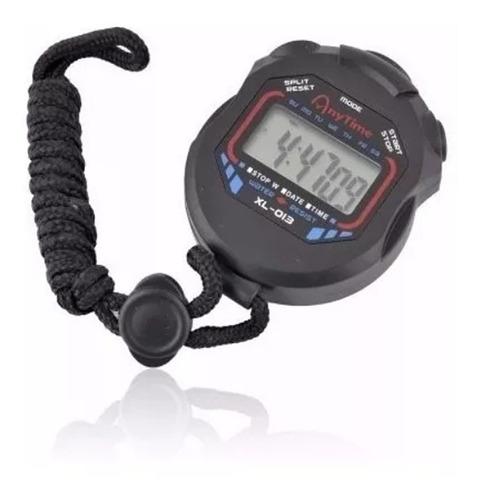 Cronômetro Progressivo De Mão Digital Alarme Hora C/ Corda