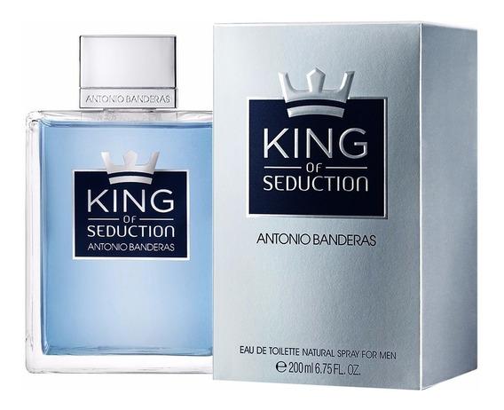 King Of Seduction 200ml Antonio Banderas Frete Grátis Orig.!