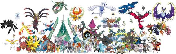 Pokémons Lendários + Ultra Beasts - Ultra Sun & Ultra Moon