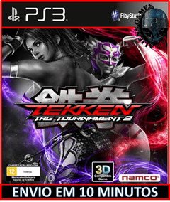 Tekken Tag Tournament 2 Ps3 Psn Envio Agora