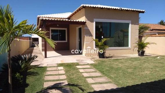 Casa Residencial À Venda, Unamar, Cabo Frio. - Ca2726