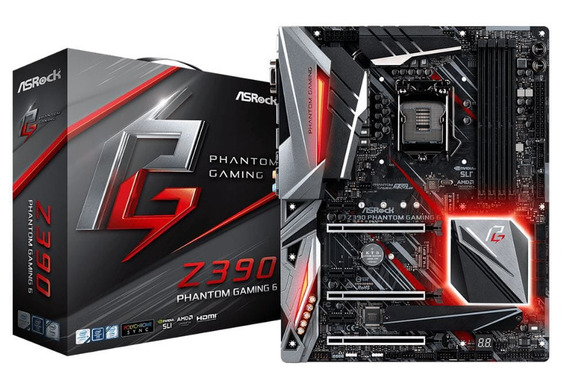 Placa Mãe Asrock Z390 Phantom Gaming 6 Intel 1151 Ddr4 Nfe