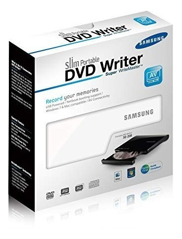 Quemadora Cd Dvd Samsung Color Blanco Se-208ab