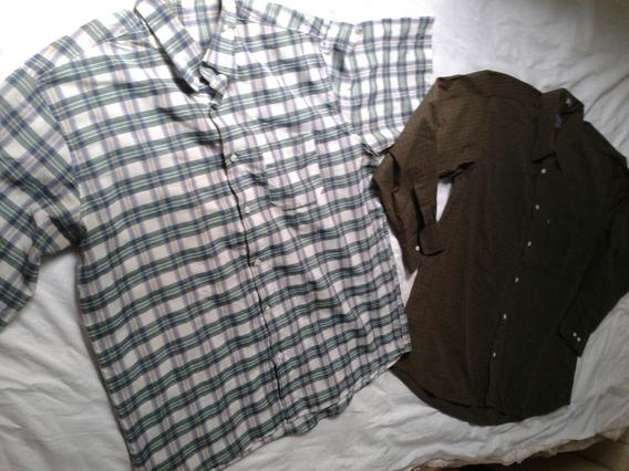 Lote De Camisas Social Masculino G Quadriculada