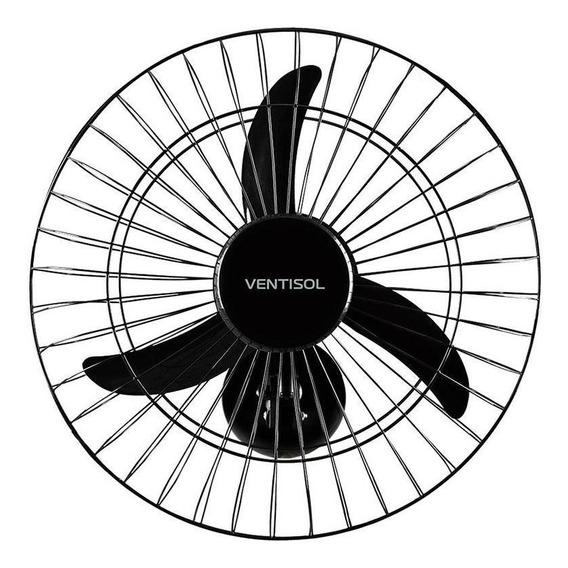 Ventilador Oscilante Parede 50cm 130w Preto Ventisol