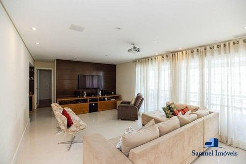 Apartamento Com 3 Suítes À Venda, 178 M² Por R$ 2.450.000 - Brooklin Novo - São Paulo/sp - Ap4095