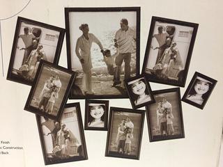 Porta Retratos Set De 10 Piezas Everdayliving Oferta C8