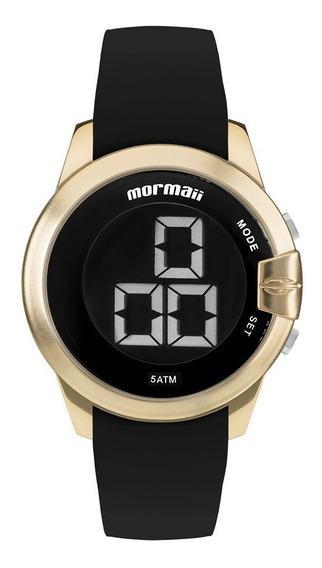 Relógio Mormaii Unissex Digital Mobjt007/8d Dourado Negativo