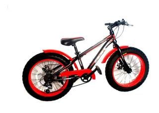 Bicicleta Fat Rodado 24 Sbk