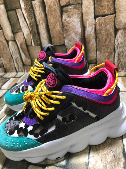 Tenis Versace Chain Reaction Pintos