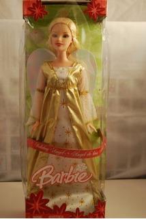 Barbie Original Día Festivo Ángel Muñeca Por Mattel