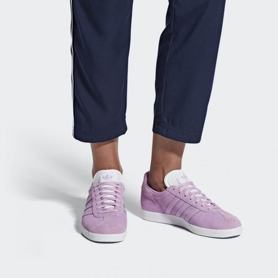 Zapatillas adidas Gazelle Color Rosa Talle 37.5 Uk 6 Dama