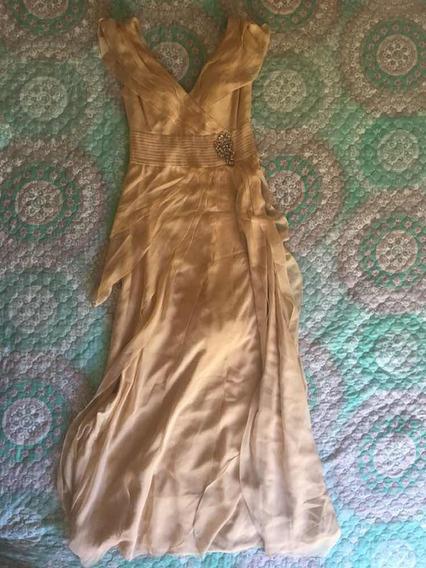 Vestido Nude Largo May Queen Talla M