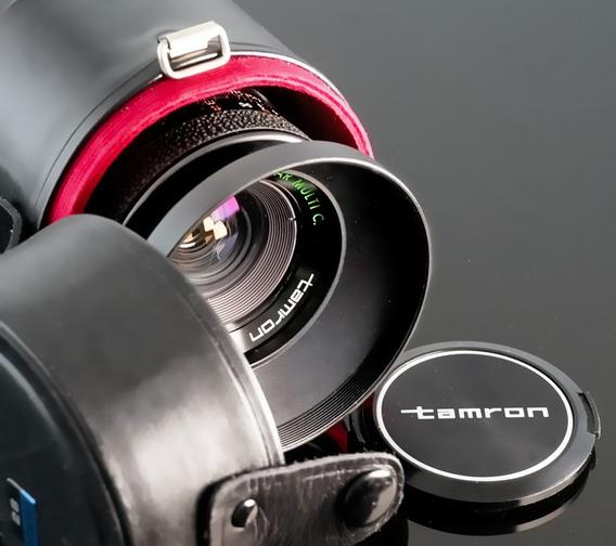 Lente Tamron 28mm Rosca M42 + Adaptador Novo Sony E- Nex
