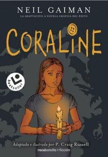 Coraline Novela Gráfica Gaiman