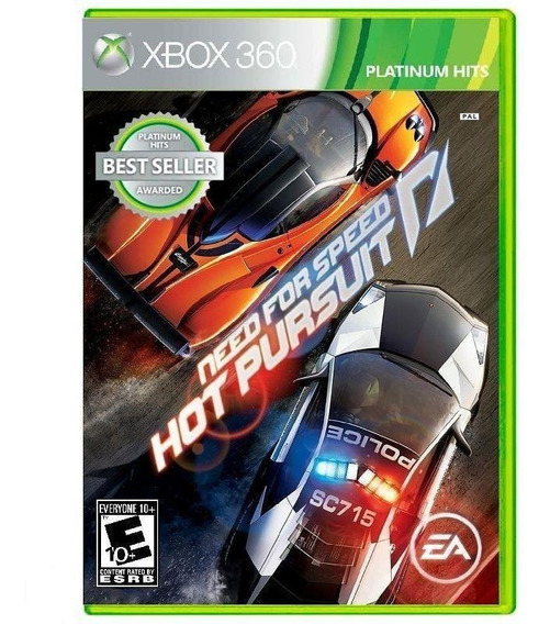 Need For Speed Hot Pursuit - Midia Fisica Lacrado - Xbox 360
