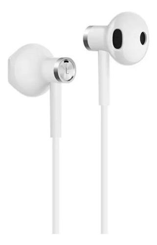 Imagen 1 de 2 de Audífonos in-ear Xiaomi Mi Dual Driver white