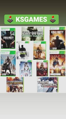 11 Jogos De Xbox 360 - Mídia Digital E Perfil Compartilhado