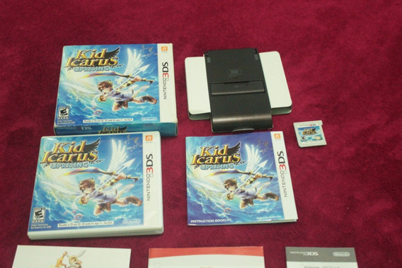 Jogo Kid Icarus Uprising Cib Original Usa Nintendo 3ds N3ds