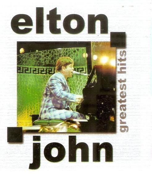 Cd Elton John - Greatest Hits- Importado - Novo Deslacrado**
