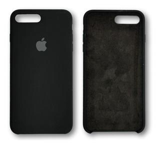Capa Case Silicone iPhone 7 Plus 8 Plus Aveludada