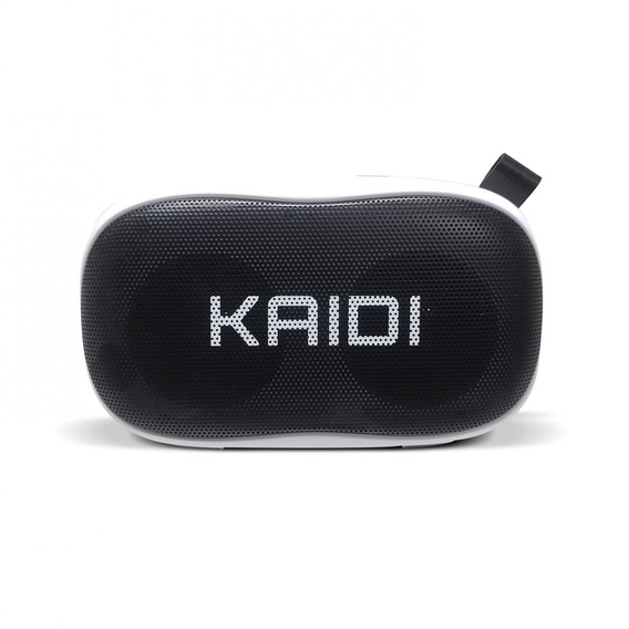 Caixa De Som Bluetooth Kaidi Kd811 Branco