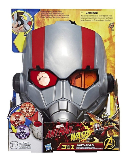 Máscara Homem Formiga Ant-man And The Wasp 3-in-1 Mask