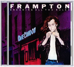 Cd Peter Frampton 1981 - Breaking All The Rules