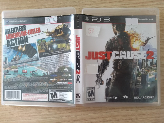 Just Cause 2 Ps3 Seminovo Imperdivel
