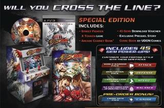 Street Fighter X Tekken: Special Edition Ps3 Envio Gratis