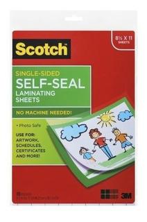 Scotch Laminating Sheets Ls854ss10 9 Pulgadas X 12 Pulgadas
