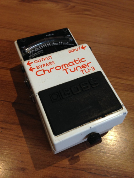 Pedal Boss Chromatic Tuner Tu-3 - Usado