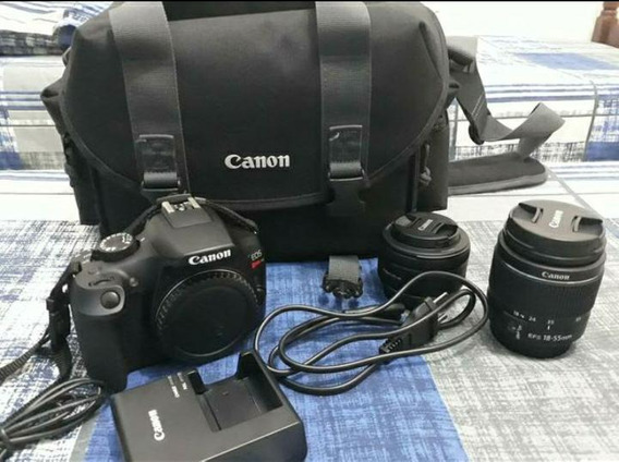 Canon T6 + Kit Lente 50 Mm + 32gb + Bolsa