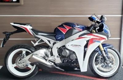 Motocicleta Honda Cbr 1000 Rr 2011 Azul