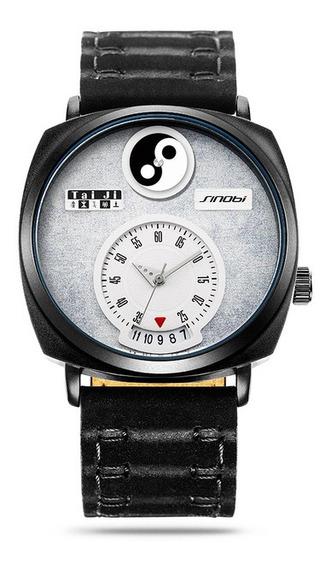 Sinobi 9772 Display Discagem Único Homens Relógio De Pulso D