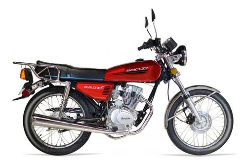 Baccio Cg Classic F 125 Moto Nueva 0km Freno Disco Fama