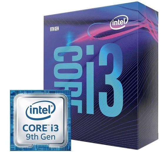 Processador Intel Core I3-9100f 3.60 Ghz 6mb Ga 1151 9º Ger.