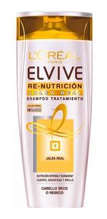 Shampoo Elvive Re Nutrición Jalea Real 400ml Loreal