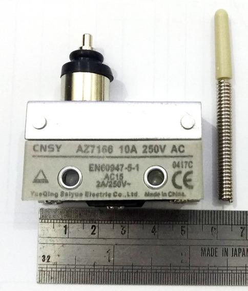 Chave Fim De Curso Com Mola Micro Switch 10a 250v Ac